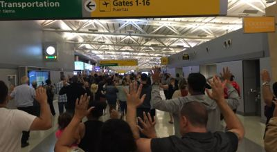 Watch: Former Navy SEAL and Media CEO Brandon Webb interviewed on his experience during the chaotic scene at JFK airport