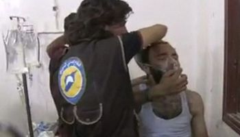 Syrian conflict: Saraqeb 'attacked with chlorine gas'