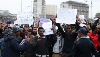 'Several killed' as Ethiopia police and protesters clash