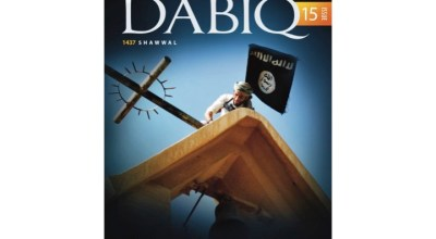 ISIS's magazine, Dabiq, ridicules the West's insistence that Islam is religion of peace