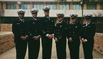Texas A&M Galveston Corps of Cadets selects openly gay cadet commander