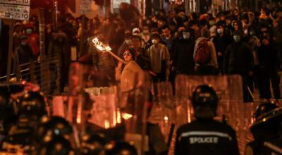 China blames 'dark shadow' of the U.S. for Hong Kong independence push
