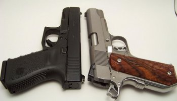Former Army Ranger Nick Irving compares the Glock and 1911