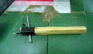 ÒScrew toolÓ used to strip Kevlar
