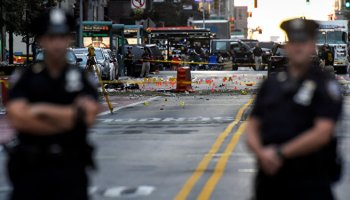 NYPD investigates a second device after an explosion in Manhattan