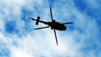 Mexican police helicopter shot down by gang members; 4 dead