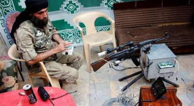 Rebel groups in Iraq, Syria using remote-controlled guns