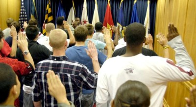 Why not join or re-join the military? Both Vets and new recruits are bombarded with negativity