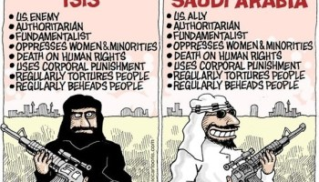 Americans distrust Saudi Arabia and maybe it's with good cause