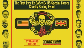 Lineup announcement for the Remembrance Rumble: Former British SAS vs Former US SOF Charity Boxing Event