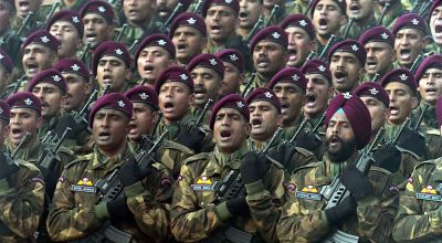 A rare look at India's Para-Troopers