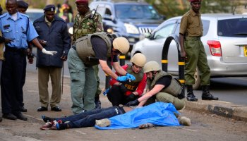 Islamic State claims responsibility for the knife attack on the US Embassy in Nairobi