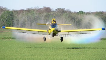 Aerial Application; Flying Fast and Low for a Noble Cause