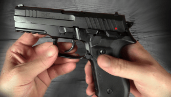 Arex's rexZero1 Handgun: Select Single or Double Action
