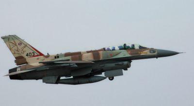 Pilot Killed in Israeli Air Force F-16 Crash