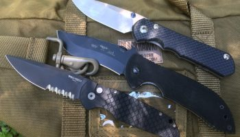 My top three higher end folding knives