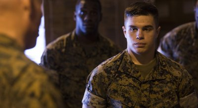This Marine tweaked his body armor to instantly treat a gunshot wound