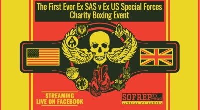 The Remembrance Rumble, Former British SAS and US Special Operations Forces Charity Boxing Event is tomorrow