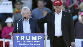 Trump chooses Sen. Jeff Sessions for attorney general, Rep. Mike Pompeo for CIA director
