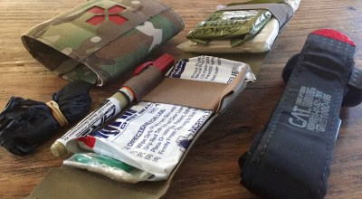 Minimalistic approach to first-aid: Blue Force Gear's 'Micro Trauma Kit Now'