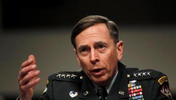 Ex-CIA boss Petraeus indicates would serve Trump if asked