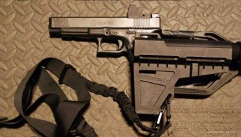 THE GLOCK PISTOL AS C-PDW: AN EXAMPLE
