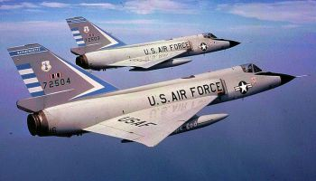 Today in Aviation History: 1956 - First Flight of the Convair F-106 Delta Dart