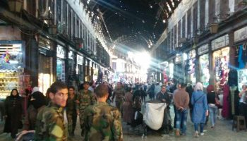 Life in Damascus during the Syrian civil war