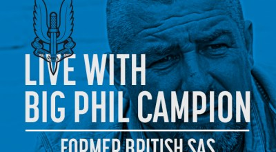 Watch: Live with Big Phil Campion, former British SAS- Dec 9, 2016
