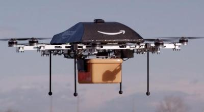Watch: Amazon Delivers First Package Via Flying Drone