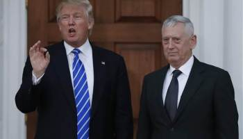 Disagreements over DoD appointments may have Trump and Mattis at odds