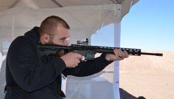 American Tactical .410 AR Shotgun: Milspec Lower with a Shotgun Upper