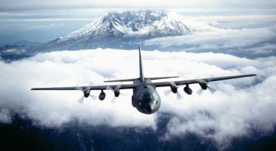 What were the CIA's C-130 aircraft doing over East Asia?