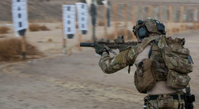First female Ranger in the 75th Ranger Regiment