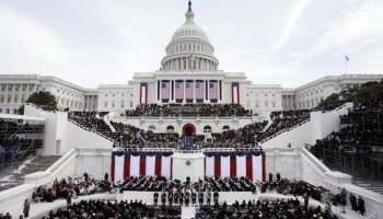 Watch: Air Force Practices for President Trump's Inauguration Flyover