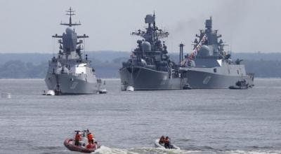 Moscow seeks naval drills as Russian warships visit Manila