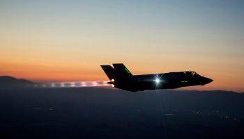 First Night Flight for Israel's Adir F-35I