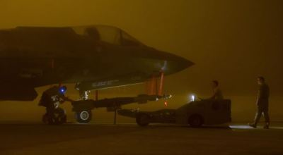 Air Education and Training Command's First Live Bombs Released from an F-35A
