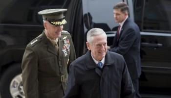 Read James Mattis' letter to the Pentagon after being sworn in as SECDEF