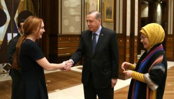 Alt-Qaeda: Lindsay Lohan meets with Erdogan and Aleppo Twitter girl