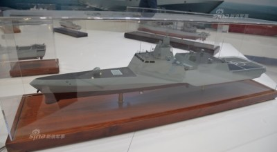China's unveils more copycat military equipment; this time it's a frigate