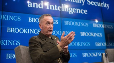 """Chairman of the Joint Chiefs of Staff: Russia is an """"existential threat"""" to the United States"""