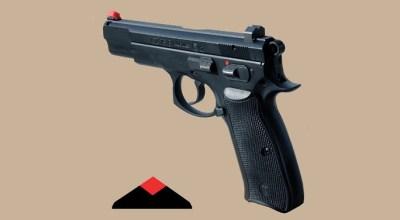 Advantage Tactical's Dark Diamond Night Sight Now Available for CZ 75, S&W M&P Pistols