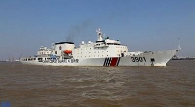China uses Coast Guard vessels to send message to Japan, U.S.