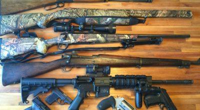 An Army Ranger's minimalist firearms cache