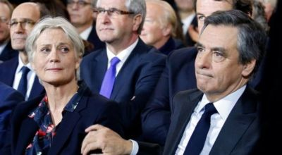 Russian media leap on French presidential candidate with rumors and innuendo