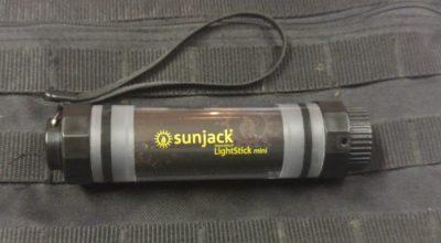 SunJack Lightstick Mini   A dual purpose gadget