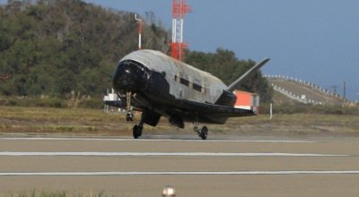 Air Force X-37B Space Plane expected to land soon after two year mission