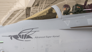 President Trump Hints at Large Order of New Advanced F/A-18XT Super Hornets