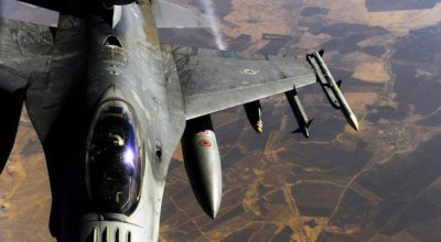 Civilian contractor killed and USAF Airman injured during a F-16 live-fire training exercise